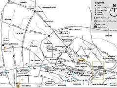 アンマン市の地図