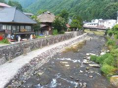 列車で行く湯西川(新潟出発)