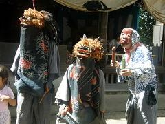 09 「古久喜獅子舞鎮守祭奉納」ささら踊り