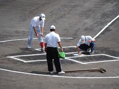 第91回全国高校野球静岡大会・決勝戦その2=球場へ=