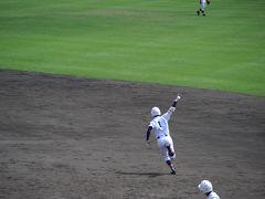 第91回全国高校野球静岡大会・決勝戦その7=4回の裏=