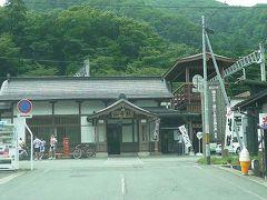 09年08月09日(日)、午前1時20分起床!母姉と3人水入らずの旅・まずは山寺駅へ(2)。
