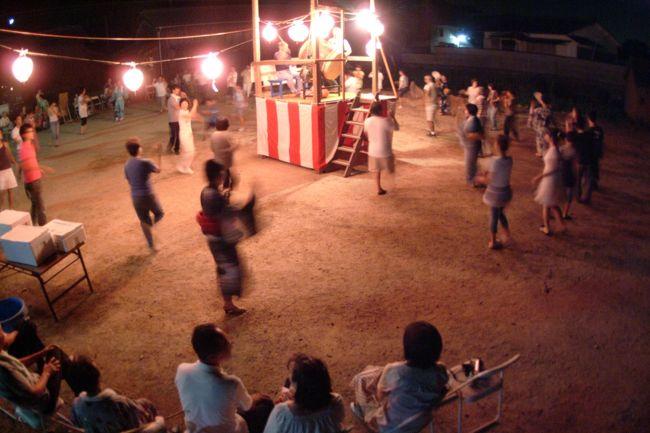 唐櫃岡の盆踊りは復活2年目でがんす。<br />昔は島の六部落全部で盆踊りやっぢょったでがんす。