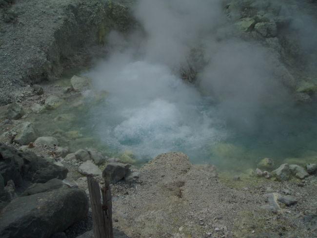 夏休みを利用し秋田県玉川温泉に湯治に行ってきました。<br />何年か連続で出かけていますが今年はガラガラにすいていました<br />。<br />ここは岩盤浴が有名で全国からガン患者が集まってきます。