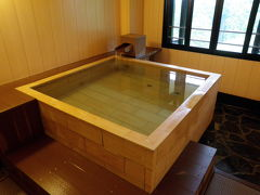 2009年8月 うたゆの宿 箱根 お風呂とお食事編