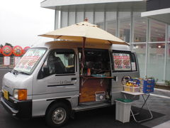 千葉県蓮田市 ホットドッグ、焼きそば、イカ焼き、カレー移動販売 パチンコ店