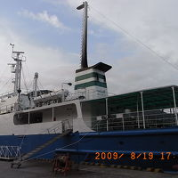 下田港から神津島へ