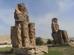 なべなべ、エジプトへ行く!(メムノンのおっちゃん達編)