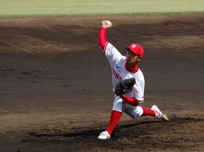 平日の昼間、有給休暇を使って、埼玉県営大宮公園野球場に行ってきました。<br />社会人野球、関東選抜リーグ(後期)です。<br /><br />セガサミー対日本通運<br />日産自動車対三菱重工横浜<br />の試合です。<br />日産対三菱横浜の試合は、何も大宮でやらなくても・・・。<br /><br />【当日の様子】<br />http://blog.livedoor.jp/chifu_19/archives/51720338.html<br />http://blog.livedoor.jp/chifu_19/archives/51720389.html<br />http://blog.livedoor.jp/chifu_19/archives/51720488.html<br /><br />【関東選抜リーグ】やったぜ古野、完封勝利!<br />http://www.plus-blog.sportsnavi.com/chifu/article/347