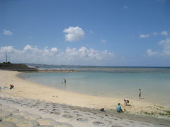 ☆沖縄 9月台風シーズン 本島1周と日帰り渡嘉敷島☆ 2.青の洞窟ツアーが・・ アメリカンビレッジ