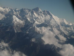 09年秋ネパールの旅~空から迫る世界最高峰、エベレスト体験フライト~
