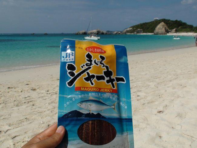 慶良間諸島の渡嘉敷島にある阿波連ビーチに行きました。宿泊はシーフレンドさんです。