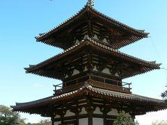 日本の旅 関西を歩く 奈良、法起寺と法輪寺