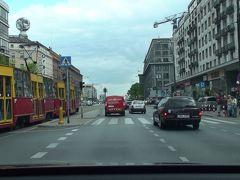 ワルシャワをドライブ