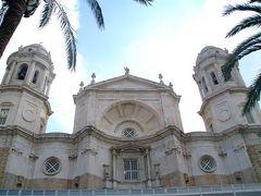 カディスの大聖堂の塔からの景色。