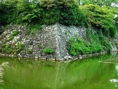 日本の旅 関西を歩く 奈良、郡山城天守跡、堀跡周辺