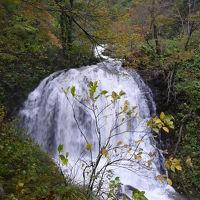『魚留の滝』(小樽市)◆2009秋色の北海道《その6》