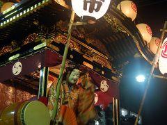 川越祭り(2)宵山と曳っかわせ