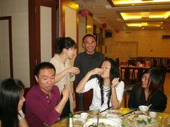 秋の福清 2 福清新市街地レストランで食事会