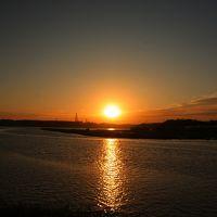 2009・東北ぶらり旅 3日目 ~尾駮沼で見た夕日~