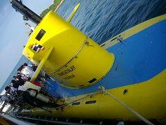24土曜2日目2午後パタヤの海で潜水艦
