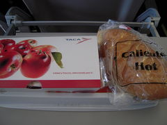 TACA航空機内食その1