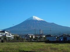 富士宮からの富士山(10月)