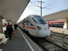 ヨーロッパ(4カ国)国際特急列車の旅①(フランクフルト→ウイーン)