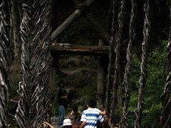 ひとり旅 [628] 秘境四国剣山の麓'奥祖谷'へ行ってきました<二重かずら橋を渡る>徳島県三好市