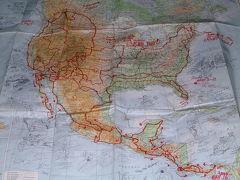 2000年ハーレー北米中米71285kmの旅