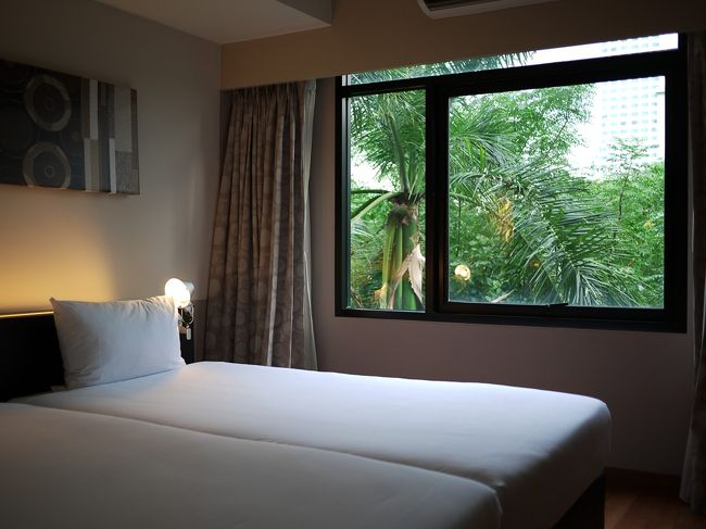 バンコク Sukhumvit Soi23 Citadine Twin Room (シタディン・シタディーヌ ソイ23) に宿泊してみました。その2