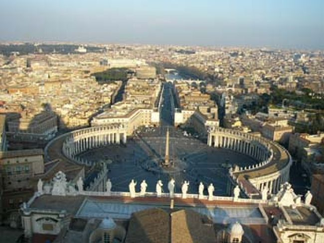 2003年に行ったスペイン・イタリア18日間の卒業旅行の続きです。ローマ(http://4travel.jp/traveler/kaiko/album/10212262/)観光の最中に、もちろんここへ行きました。ヴァチカン市国に行きました。
