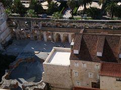 2009.10クロアチア・スロヴェニアツアー(その8スプリット後編:古代ローマの遺跡に人々が暮らす町)