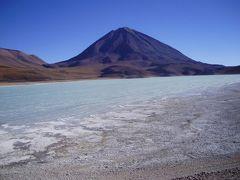 世界最大ウユニ塩原周辺の色とりどりの湖巡りとフラミンゴ-南米ボリビアアンデス山脈 #6