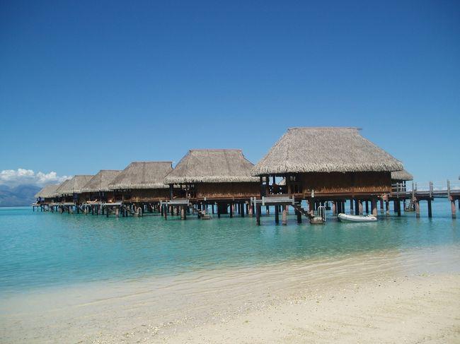 ボラボラ島が有名なタヒチですが<br />タヒチ島とモーレア島に行ってきました。<br />モーレア島でも大満足です。<br />砂浜は白いです。<br />海、綺麗すぎます。<br />浅瀬にもたくさんの魚たちがいます。<br />ビーチには人があまりいなかったので<br />思いっきり楽しめました。<br />物価が高いタヒチですが<br />海でたくさん楽しめたので<br />めでたしめでたしです。