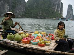 ベトナム&カンボジアの旅 ハロン湾編