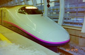 2002年12月東北鉄道旅行3(東北新幹線)