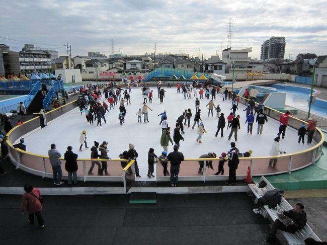 年末年始の休みの最終日に次女とスケートへ。朝方気温は低かったが、日が出てくると上着なしでも滑っていれば気にならないほどだった。