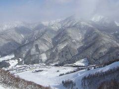 雪の「ほおのき平スキー場」と下呂温泉