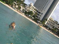 グアムで初夢!常夏ビーチで2010年のエネルギーをチャージ★出発~ホテル到着編★