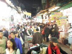 台湾1周5泊6日バス旅日記5日目、高雄Kaohsiung→台北の西門、忠孝、士林夜市