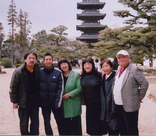 生まれは東京の荻窪ですが<br />私のルーツは岡山でしょうか。<br /><br />祖父母が岡山出身、祖父母と父のお墓があります。<br /><br />松戸に住む姉夫婦と母、息子が私の代理でお墓参りに行ってくれました。<br /><br />牛窓に住んでる叔母夫婦と合流しました。<br /><br />2008年と2011年2013年の旅行記を合体させました