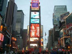 久しぶりの Times Squareは明るかった