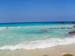 ハワイ島の溶岩大地をひた走り極上ビーチへ♪