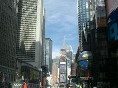 Times Square をぶらぶらお散歩