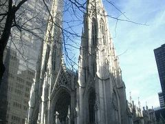 St. Patrick's Cathedral は大きかった