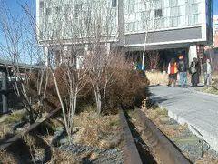 High Line の遊歩道が整備されました