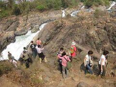 2010年1月k南ラオスコーン島の滝