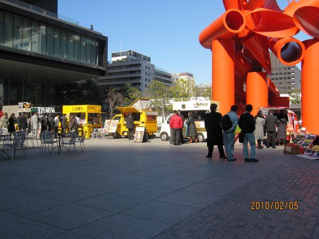 大手町・サンケイビル前<br /><br />美味しそうな屋台が並んでいました<br /> <br />http://www.w-tokyodo.com/neostall/village/v_sankei.html