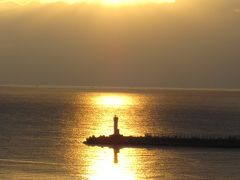 きれいな日の出を見ちゃった!(その2 熱海 親水公園)